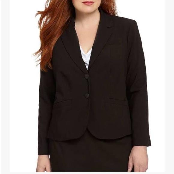 d8d44d339d491 Calvin Klein Jackets & Blazers - Calvin Klein black Plus 2-Button Suit  Jacket